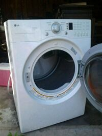 white LG front-load washer North Canton, 44720