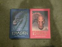 Eragon and Eldest by Christopher Paolini Books