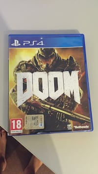 Caso di gioco Doom PS4