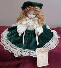Porcelain Doll from Italy Capodimonte Mississauga
