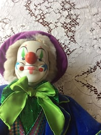 Collectors choice porcelain clown Gaithersburg, 20878