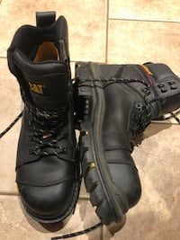 11 INCH CAT STEEL TOE BOOTS Surrey, V3S 2T3