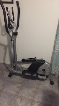 Silver and black elliptical machine Toronto, M1R 2J3