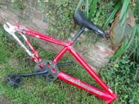 red and black bicycle frame San Fernando