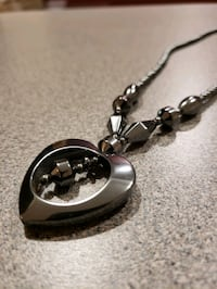 Hematite Stone Necklace From Cameroon.
