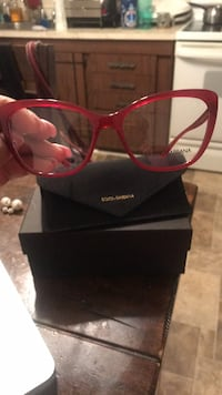 Red     cat eye Dolce and Gabbana eyeglassss Newark, 19713