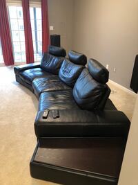 Reclining Curved Movie Theater Sofa/Sectional Reston, 20194
