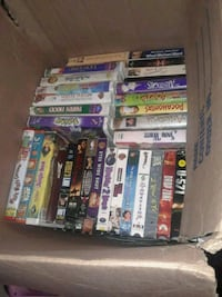 Tv... over 50 VHS tapes.... 9.5 shoes 650 mi