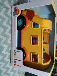 Brand new toy bus llight and sound school bus by battat