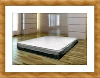 white and gray bed mattress McLean