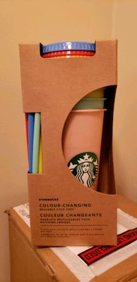 New Starbucks Color Changing Cold Cup