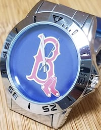 Red Sox Stainless Steel Wristwatch  - $24.99 Port Richey, 34668