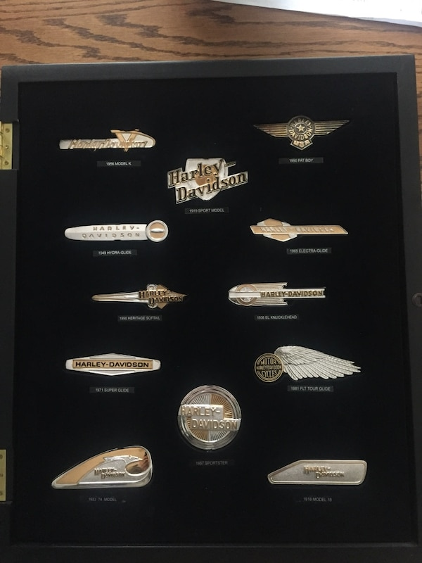 Harley davidson sterling silver collection