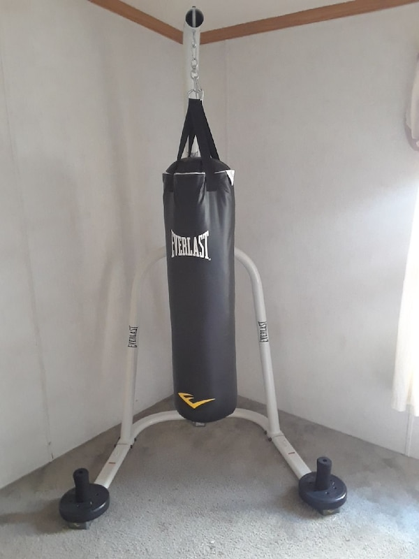 Everlast Punching Bag With Heavy Stand