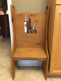 Wood timeout chair
