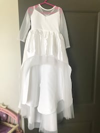 Toddler 2t high/low dress white  Lithia, 33547