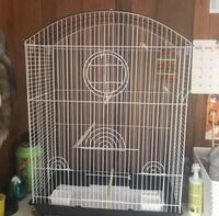 Bird cage for small bird.