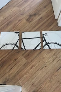 3 piece wall decor bicycle King, L0G 1T0