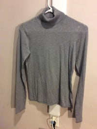 Gray turtleneck sweater Flatwoods, 41139