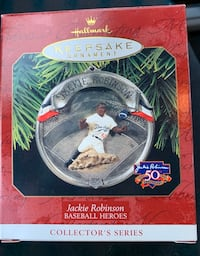 Jackie Robinson ornament Franklin, 37067