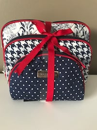Brand New Ellen Tracy Cosmetic Bags Centreville, 20121