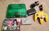Jungle Green Nintendo 64 Lot Alexandria, 22304