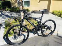 black and gray hardtail bike Poway, 92064