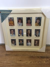 Solid wood picture frame.