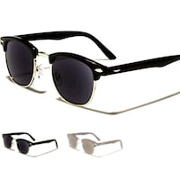 black framed sunglasses with black lens Atlanta