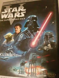 Star Wars The Empire Strikes Back DvD