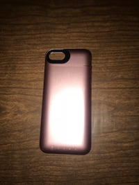 Rose gold iphone7 morphie recharge case