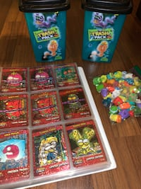The Trash Pack Figures, Cards & Cans Lot Ajax