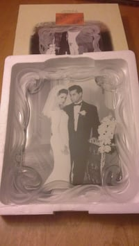 Frosted Crystal Picture Frame