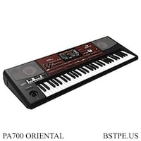 KORG PA700 ORIENTAL Professional Arranger Keyboard Workstation 61-Key w/ Latest Program (New) Burlingame, 94010