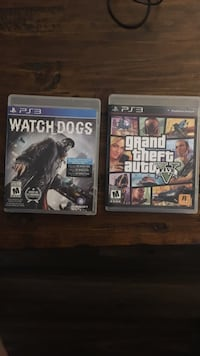Watch Dogs and GTA 5 for PS3 London, N6K 2X9