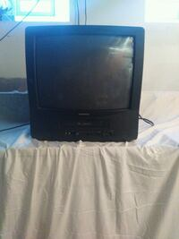 black CRT TV with remote Buffalo, 14214