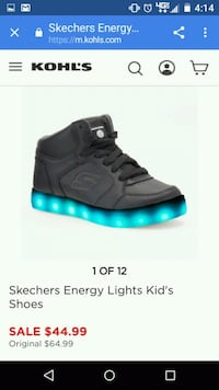Sketchers Energy Lights New,Open,Box Special6girls Vevay, 47043
