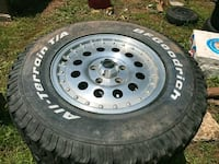 Barely used BF goodwrench n American racing rims Charleston, 25303