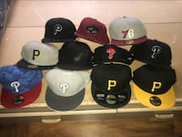 11 Fitted Hats 7 1/4 Philadelphia, 19114