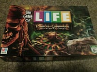 The Game Of Life Pirates of the Caribbean box