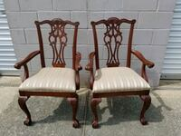 Ethan Allen side chairs (pair) Pelham, 35124