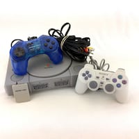Sony Playstation 1 Console Bundle Controllers Memory Card Original PS1 SCPH-7501 Port Colborne