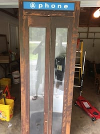 Old bell telephone booth about 35 years old .. I still have it . Please forgive me to the people reaching out to me I can't message back for some reason keeps telling me there is an error .reach me at  [EMAIL_HIDDEN]  La Plata, 20646