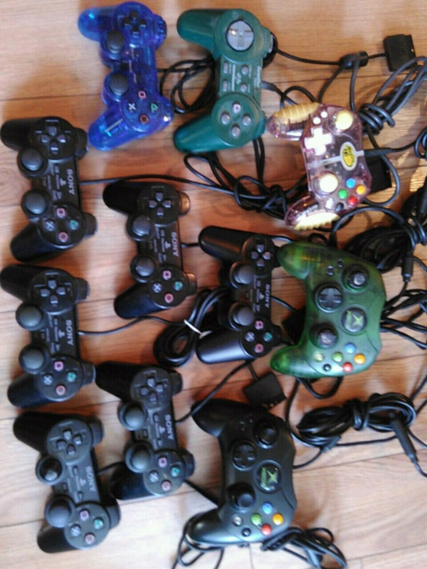 Ps2 xbox controllers