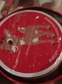 Rudolph the Red Nose reindeer print plate