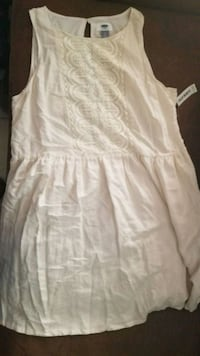New w/tag Cream casual dress Oroville, 95966