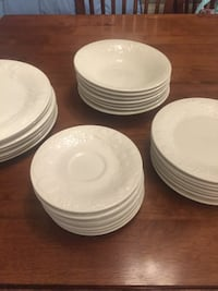 White ceramic plates and bowls Oceanside, 92054