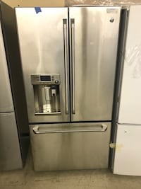 "GE Cafe French Door Refrigerator 36"" with Ice Dispenser LED lighting  Hot water Dispenser *Brand New* Toronto, M9L 1S7"