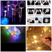 Led party balloons, bulk buyers welcome