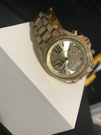 Gold Michael Kors watch Waterbury, 06704